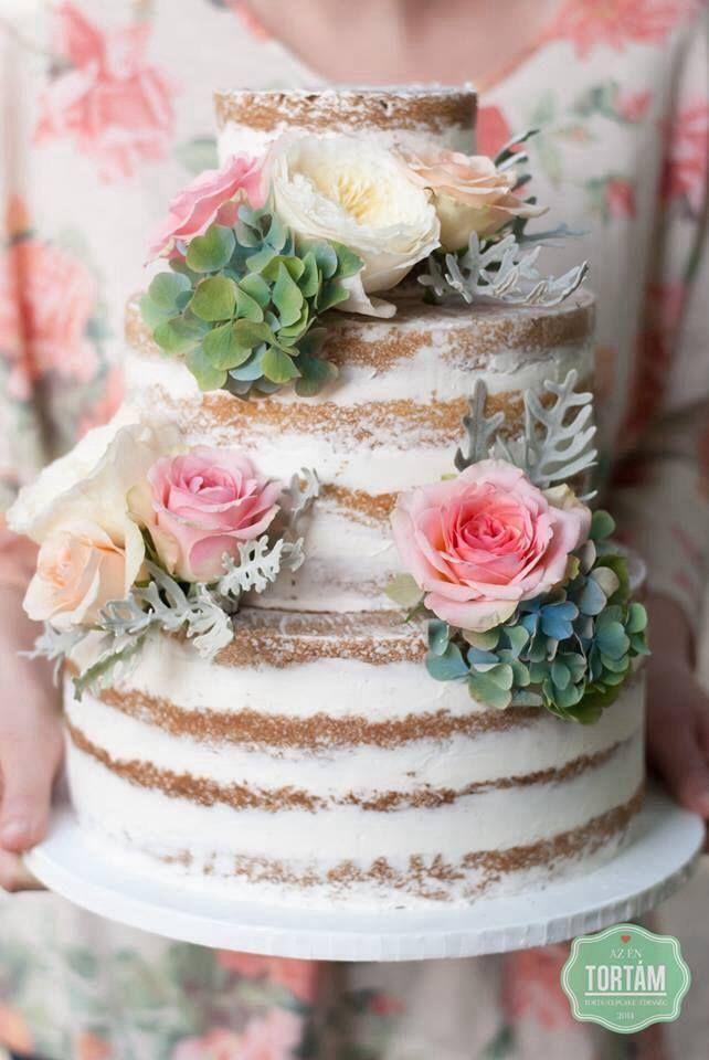 #nakedcake #weddingcake  #azentortam