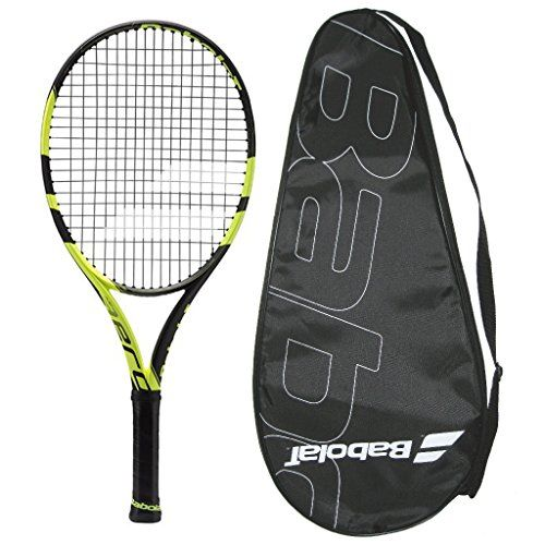 Babolat 2016 AeroPro Drive - Pure Aero - STRUNG with COVER Tennis Racquet - http://www.closeoutracquets.com/tennis-racquets/babolat-2016-aeropro-drive-pure-aero-strung-with-cover-tennis-racquet/