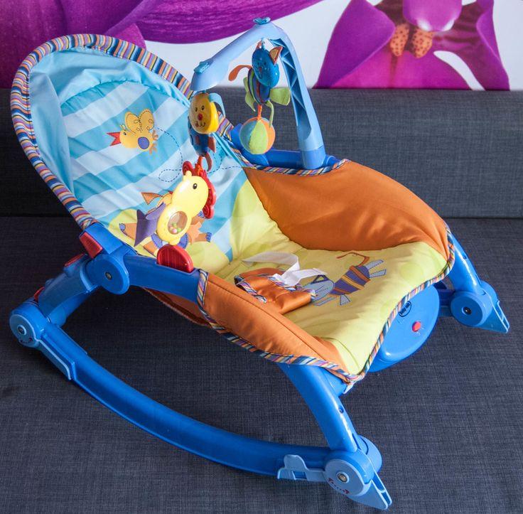 Leżaczek z funkcją krzesełka. Lekki, solidny wykonany z najwyższej jakości materiałów. Posiada wibrujący i nowoczesny design.  #Dzieciociuszek #bujaczek #leżaczek #gadżetydladzieci #zabawki #dladzieci