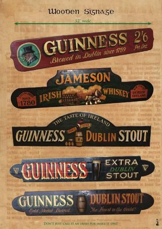 Irish Pub Decor Catalogue 2014 de Rare Irish Stuff                                                                                                                                                                                 More