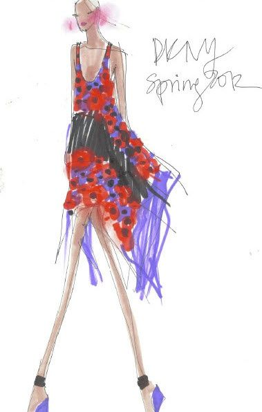 Dior illustrations and more ZsaZsa Bellagio: Fashion Illustration Fabulous