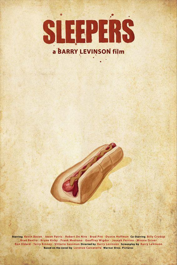 Sleepers (1996) ~ Minimal Movie Poster by Oscar Delmar