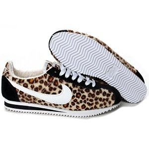 GASP!! i WANT no, NEED these!!! nike 'cortez' leoapard print!! <3 <3 <3