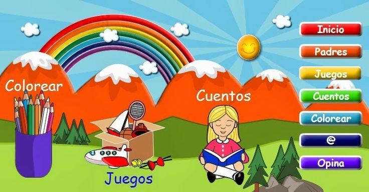 """La Caseta, un lloc especial: Pàgina de jocs """"Arcoiris"""""""