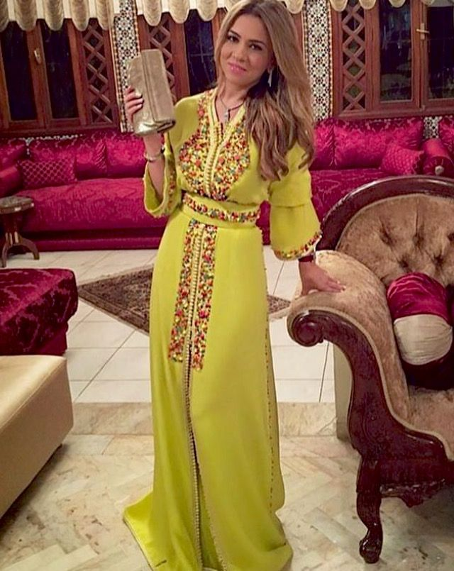 Moroccan caftan style