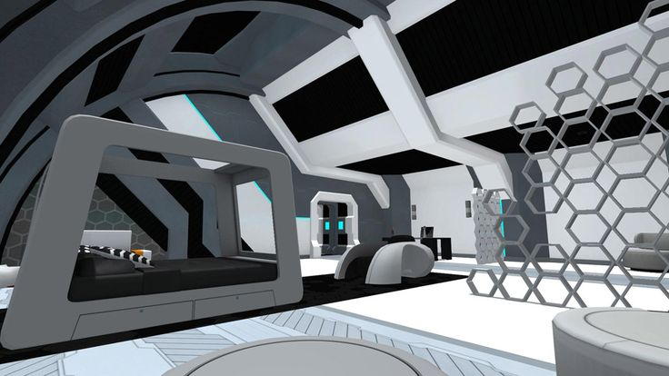 Egowall | Space Captain's Quarters || Space Captain's Quarters is a living space befitting a starship commander or someone who aspires to such a position of authority.  Have a lot of science-fiction themed content to showcase? Each of its rooms are bigger than either the Orbital Deck or Space Crew Quarters. || Sign up for a free account at www.egowall.com and Be The Real You™.