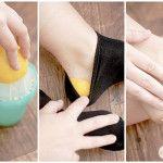 dry heels remedy