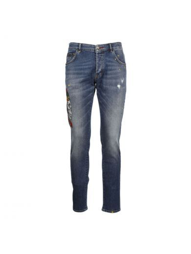 PHILIPP PLEIN Philipp Plein Twisted Bear Jeans. #philippplein #cloth #https: