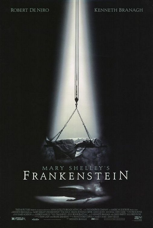 Mary Shelley's Frankenstein Movie. Robert De Niro