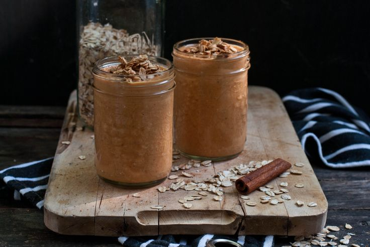 Pumpkin Spice and Oat Smoothie with Oat Crumble | Natrel