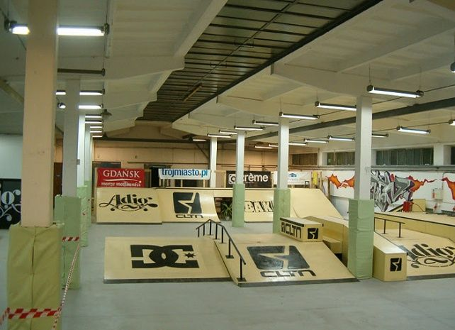 cool interior skatepark - Google Search