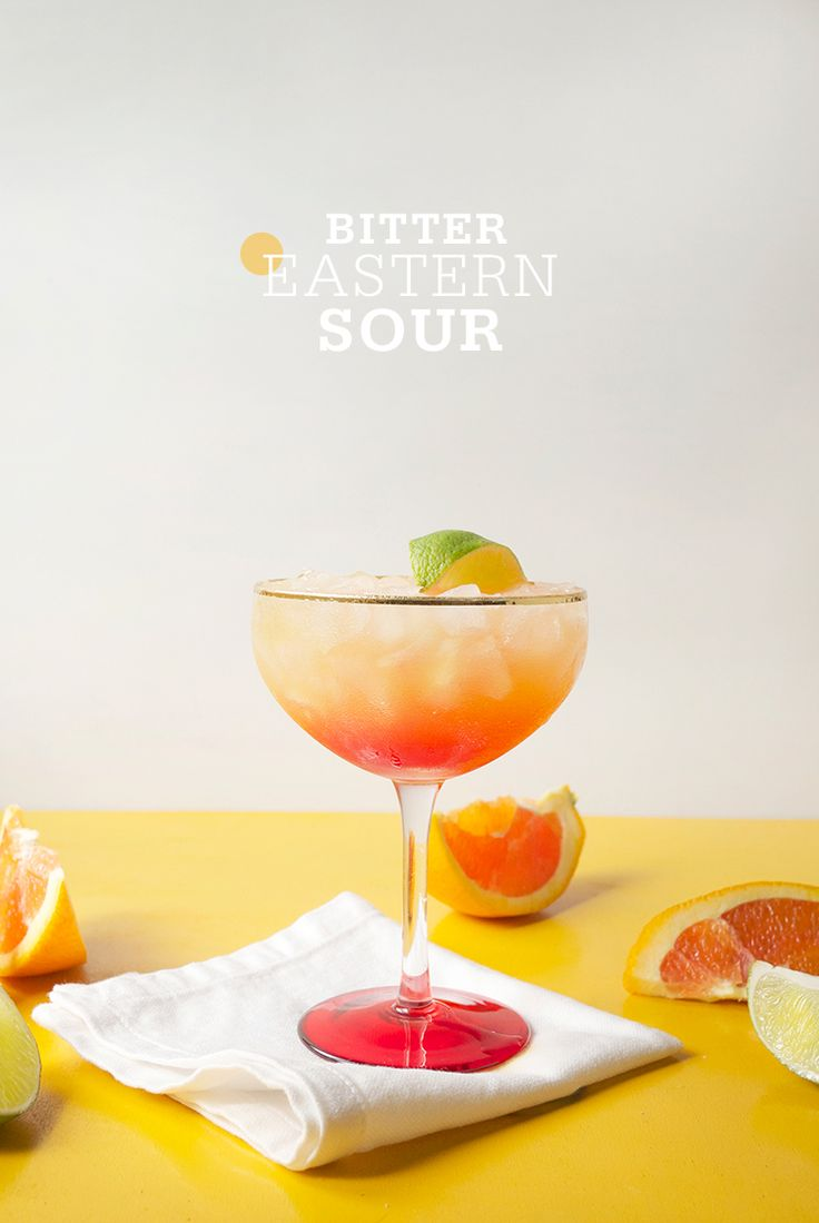 Bitter Eastern Sour Cocktail | Freutcake