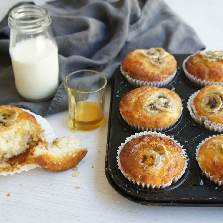 "#RecipeoftheDay: Yoghurt and Banana Muffins by grooies - ""This is a good recipe. Makes moist muffins."" - pblack"