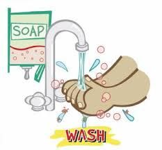 Wash hands thoroughly with soap or carry hand sanitizer
