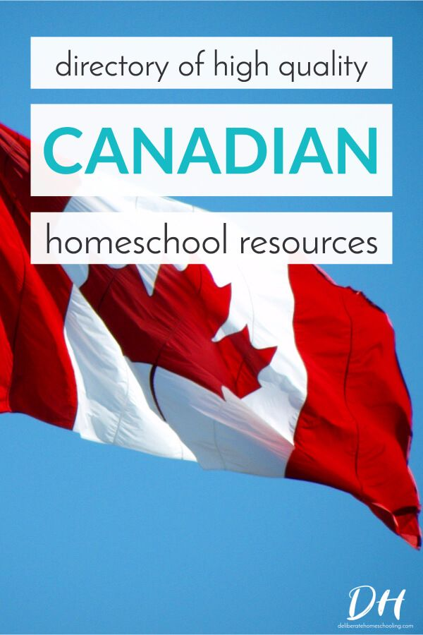 Looking for Canadian content for your homeschool? Check out this directory of high quality Canadian homeschool resources!