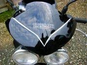 Peinture Jantes Triumph Speed Four - AirBrush Métal