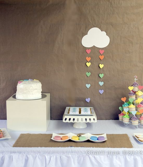"Photo 1 of 19: rainbow, colors / Birthday ""Rainbow LOVE""   Catch My Party"