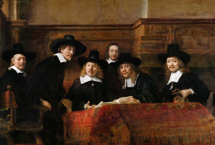Групповой портрет чиновников (1662) (191,5 x 279 ...
