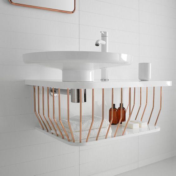 Caged basin storage #product_design