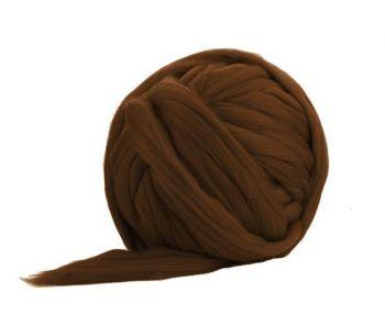 Fir Gigant lână Merino Chocolate Wolo