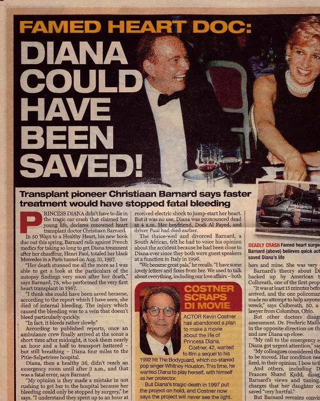 Princess Diana Conspiracy