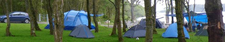 Sallochy campsite, Loch Lomond
