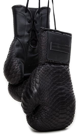 Manila Snakeskin Boxing Glove - Elizabeth Weinstock                                                                                                                                                                                 More