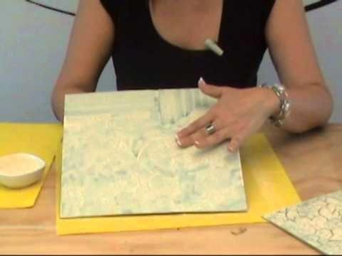 craquelado técnicas diversas para craquelado grande, pequeño, suave y con esponja