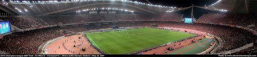 UEFA Champions League 2007 Final. AC Milan 2 - 1 Liverpool FC. Athens (GRE) Olympic Stadium. May 23, 2007. Attendance: 74.000 © www.alexandrosmaragos.com   twitter.com/alexmaragos   The planet most comprehensive on-line casino. - http://www.playdoit.com/