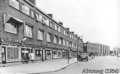 Afbeeldingsresultaat voor oud Rotterdam Abtsweg