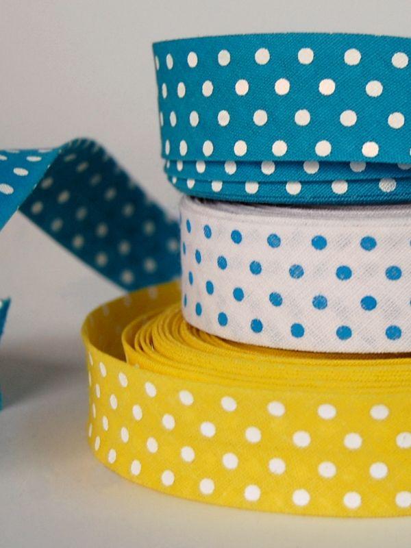 Cinta Bies Topos #Ribbons #Dots