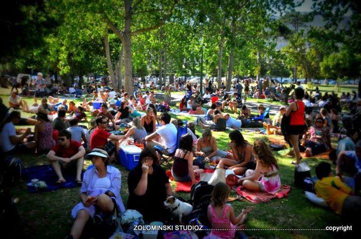De Waal Park concert