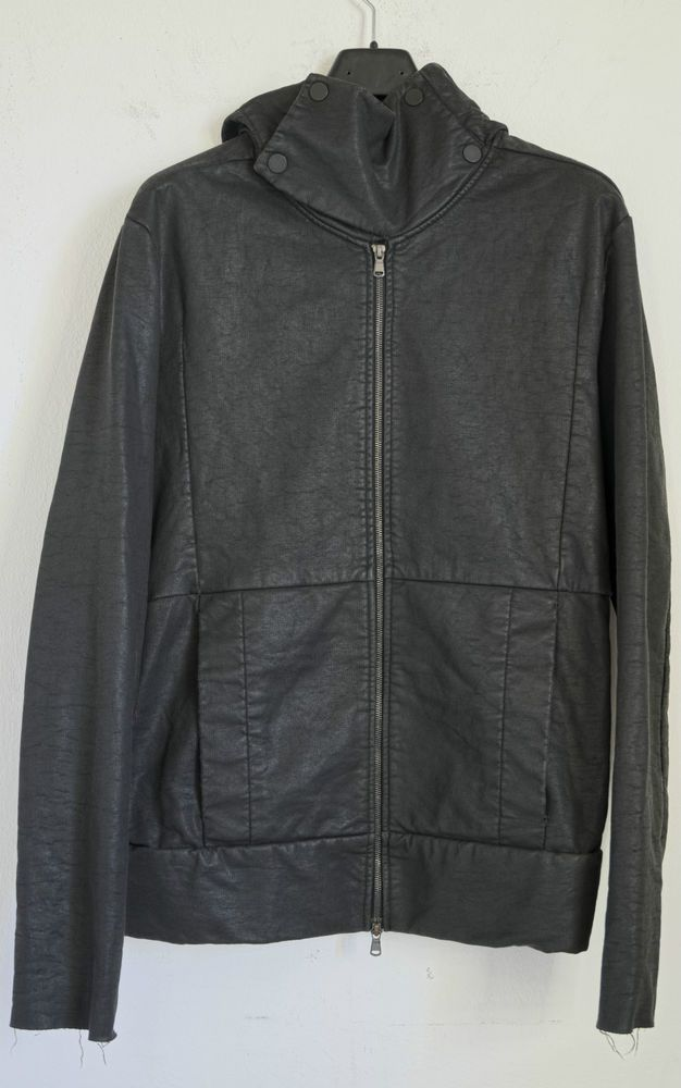 BNWT LOST AND FOUND BY RIA DUNN GREY HOODED JACKET sz MEDIUM,979$,DRKSHDW #LOSTFOUND #HOODEDJACKET