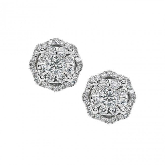 ORB 723 Oro 750 ‰ . Diamanti P.Ct. 68 Col. G Purezza SI #CometeGioielli   Gioielli Sposa Collezione Lumiere