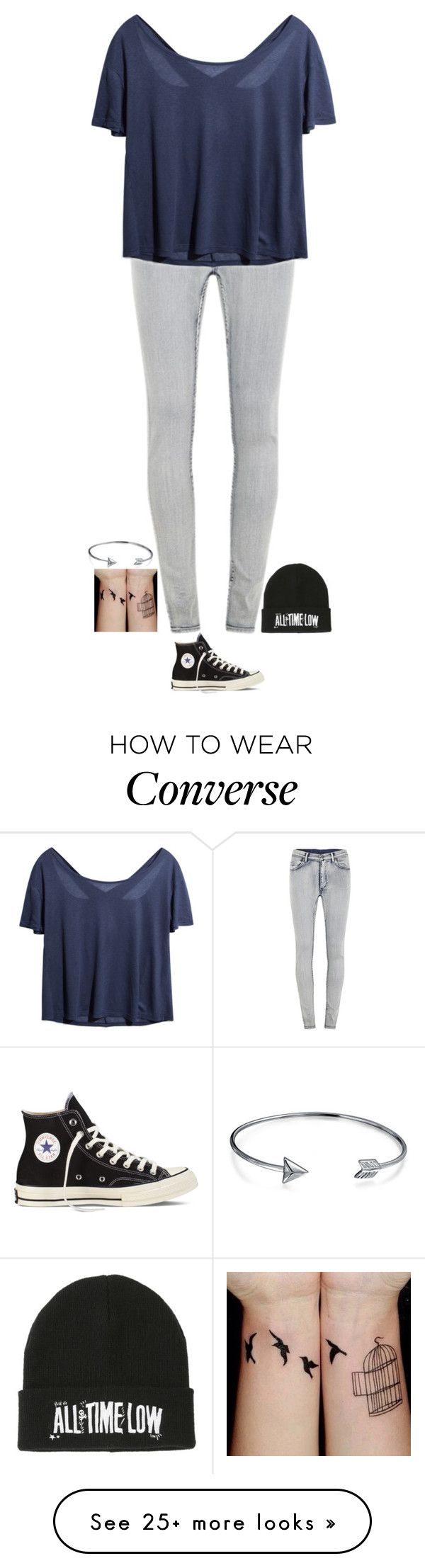 """I Need to Get Beanies"" by neb1211 on Polyvore featuring Cheap Monday, Converse and Bling Jewelry"