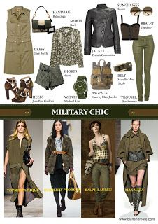 panache: HOW TO WEAR MILITARY TREND?