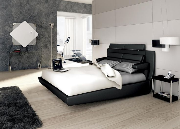 Modello Roma con regolazione di braccioli, poggiatesta e supporto lombare; per avere il massimo confort anche in camera da letto