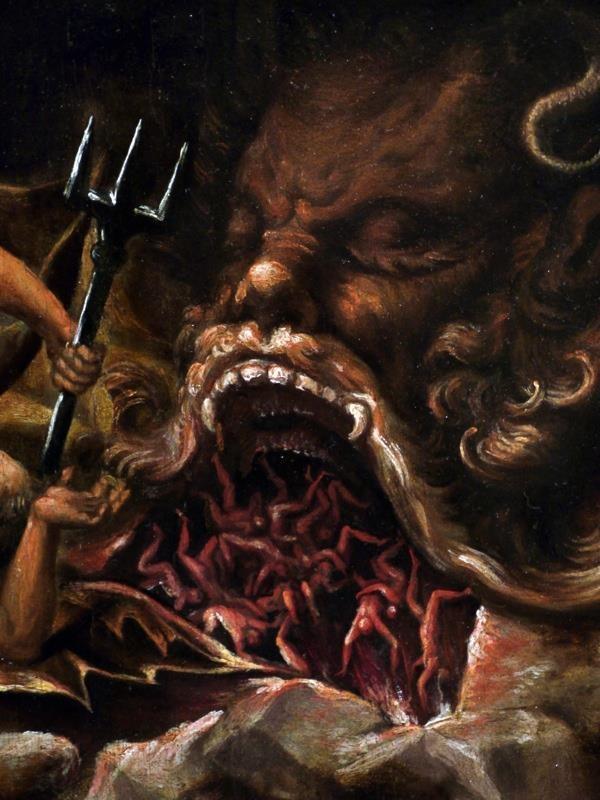 Lelio Orsi (1508-1587) Saint Miguel subduing Satan and ...