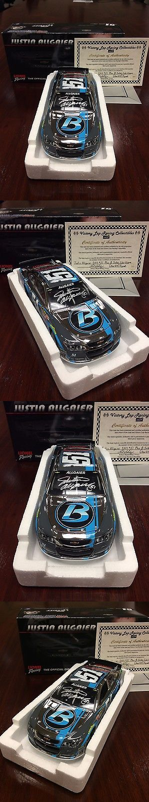 Other Diecast Racing Cars 45354: 2014 Justin Allgaier Autographed #51 Plan B Sales Color Chrome 1:24 Diecast Wcoa -> BUY IT NOW ONLY: $90 on eBay!