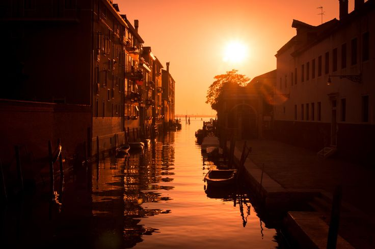 Photograph Venice Off-Track Sunset by Christian Schrinner on 500px