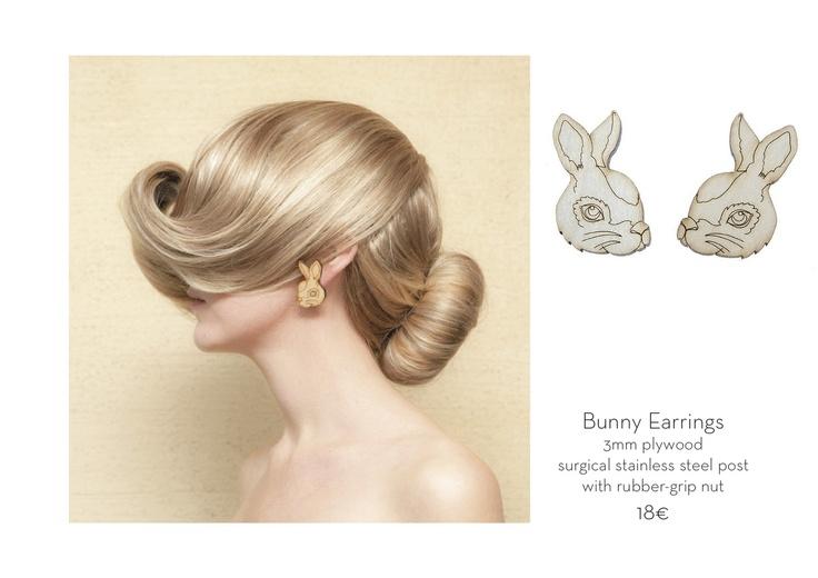 poola kataryna: JEWELLERY  :: Bunny Earrings