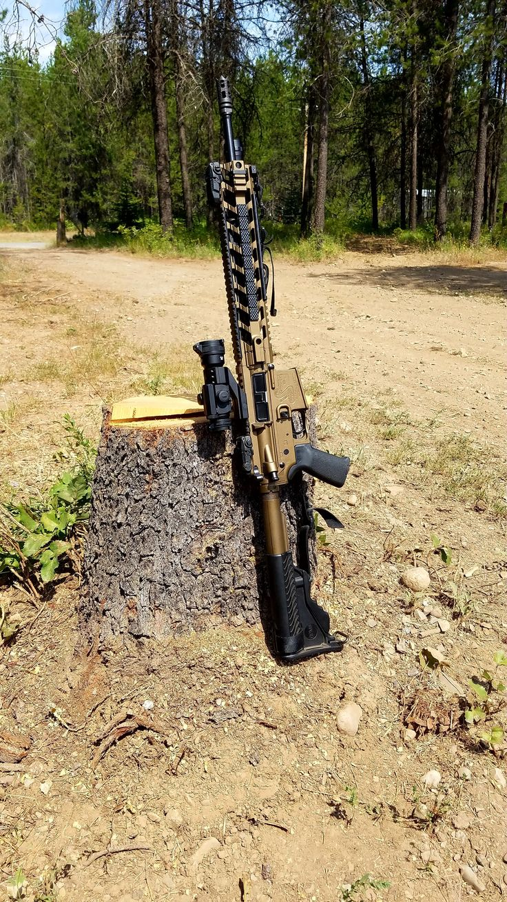 AR15 Bushmaster. Burnt BronzeLoading that magazine is a pain! Get your Magazine speedloader today! http://www.amazon.com/shops/raeind