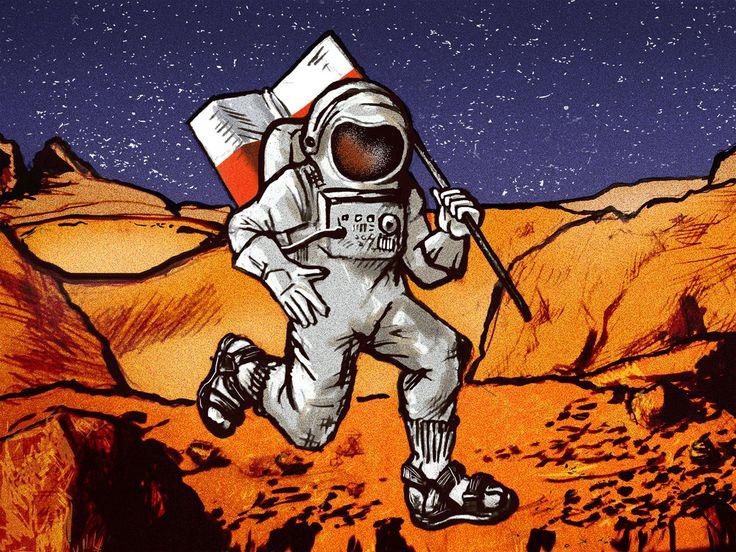Biało-czerwony na Czerwonej Planecie | VICE | Polska