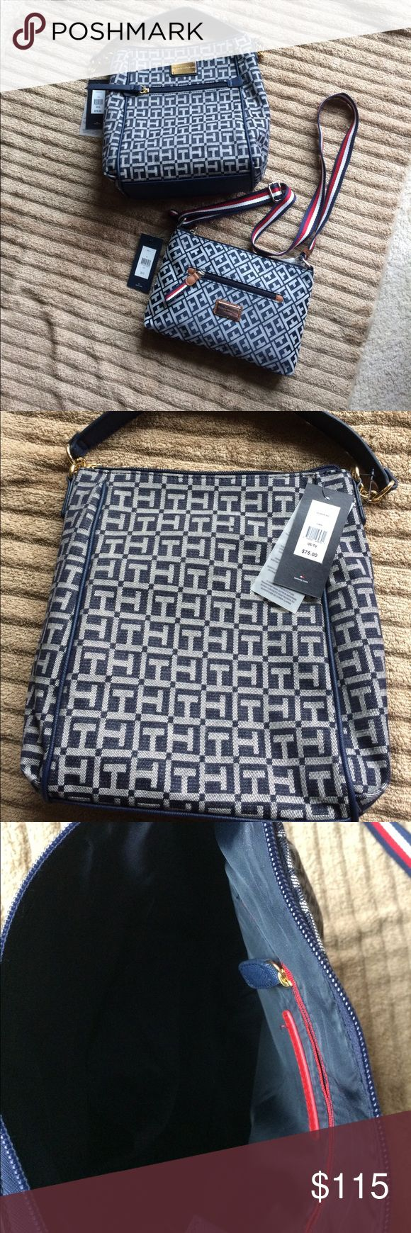 Selling this NWT TOMMY HILFIGER PURSES on Poshmark! My username is: kdelwiche. #shopmycloset #poshmark #fashion #shopping #style #forsale #Tommy Hilfiger #Handbags