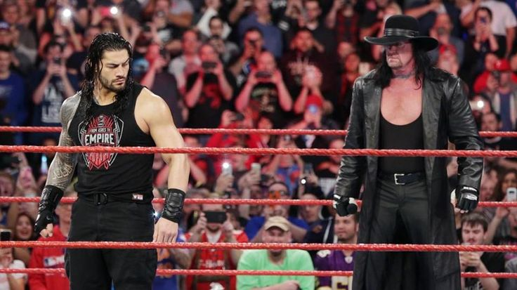 WWE WrestleMania 33: Roman Reigns Beating The Undertaker And ...