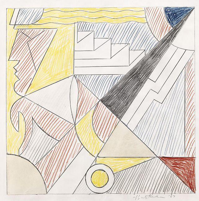 Рой Лихтенштейн. Study for Studio International Cover, 1967