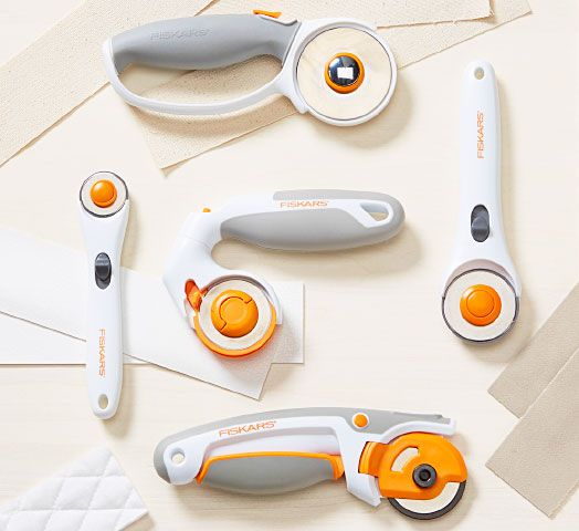Rotary Fabric Cutters, Rotary Blades & Circle Cutters | Fiskars