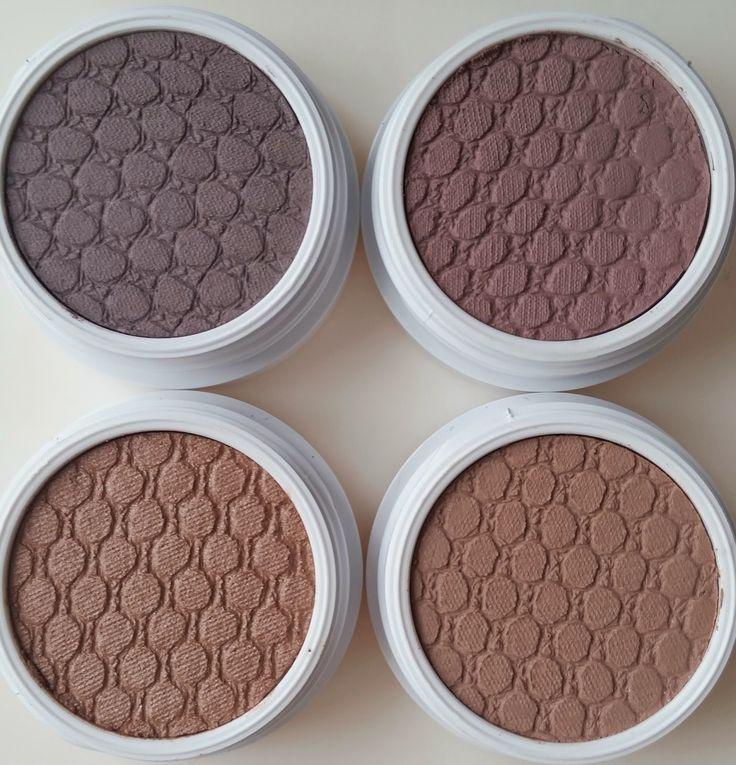 Colour Pop Shadow Top Row: Girl Crush, Bill Bottom Row: Desert, Hanky Panky