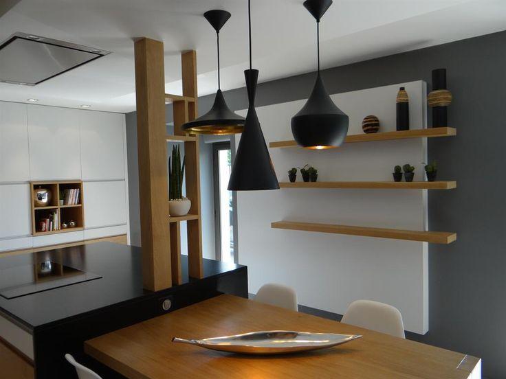 1000 id es sur le th me cuisines contemporaines sur pinterest cuisines cuisines modernes et for Les plus beaux ilots de cuisine versailles