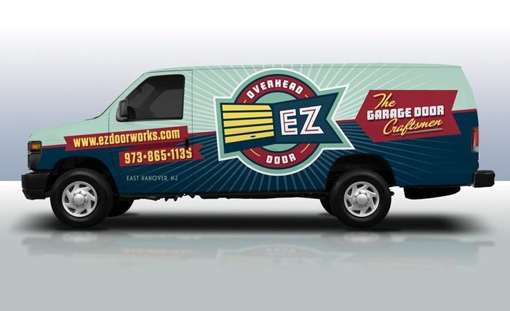 17 best images about design vehicle vinyl graphics on - Garage door vinyl wrap ...